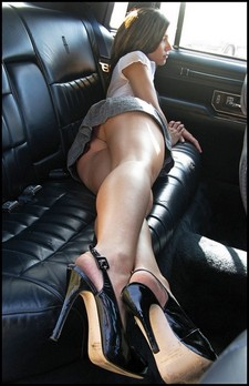 Backseat tease, perfect..