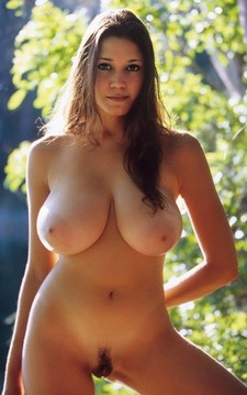 Huge natural breasts on..