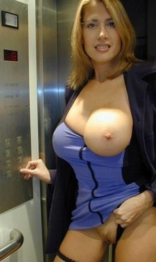 Milf with big breasts..