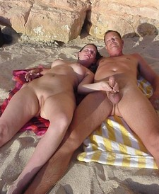 Hot couple on vacation -..