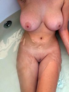 My naked wife in the..